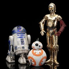 Star Wars: Episode VII C-3PO & R2-D2 with BB-8 Statue Pack (Jul 2016) #starwars #c3po #r2d2 #bb8 #droids #tfa #theforceawakens #fatsuma #fatsumatoys #artfx #kotobukiya #episodevii #3pack #awesome #cool #instacool #beautiful #beauty #amazing #love #instalove #fun #art #instagood #collectible #toy #new