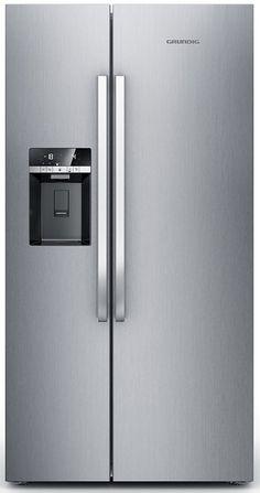 Grundig Side by Side GSBS 13320 X, A++, 182 cm hoch, No Frost für 1.399,00€. Energieeffizienzklasse A++ bei OTTO