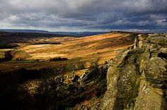 Stanage Edge, Peak District, Derbyshire- Would LOVE to see it for myself!