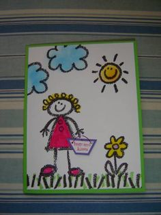 Crayon Kids by Toni J - Cards and Paper Crafts at Splitcoaststampers