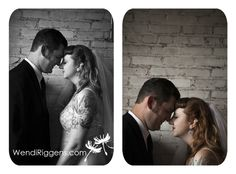 Another favorite wedding pose for a bride and groom. The key is to have them touch their foreheads AND noses.