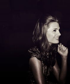 Stana Katic (or, as I like to think of her, Kate Beckett) is gorgeous.