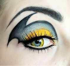 Eye Makeup Batgirl. Batgirl Bat girl female version of the classic Batman has a dramatic eye makeup! You know who you will be on your next costume party ...