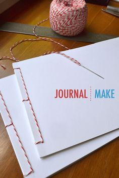 Making Journals - could be cute to sell