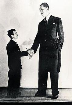 Väinö Myllyrinne - 7 feet 3.4 inches