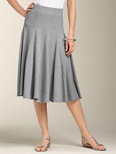 Talbots - Godet Full Skirt | Skirts | Apparel.
