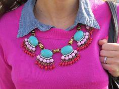 statement necklace: fashionable friday http://goldcoastgirlblog.com/