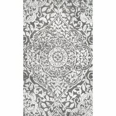 Ophelia & Co. Aldora Gray Area Rug & Reviews | Wayfair White Rug, White Area Rug, White Pillows, Sterling Grey, Plush Area Rugs, Synthetic Rugs, Area Rugs For Sale, Floral Area Rugs, Modern Area Rugs