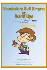 Vocabulary Bell Ringers and Warm Ups--Three FREE activities