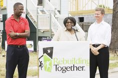 Fifity for Five in New Orleans.  50 homes, rebuilt in 5 days.  Gary Officer, President and CEO of Rebuilding Together with Shaun Donovan, U.S. Secretary for Housing and Urban Development