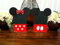 Minnie mouse bags & Mickey mouse bags party loot bags birthday favors