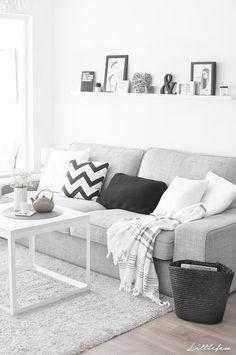 New Living Room Grey Couch Scandinavian Design Ideas Living Room Grey, Home Living Room, Living Room Decor, Room Interior, Interior Design Living Room, Living Room Designs, Living Room Inspiration, Home Decor, Scandinavian Living
