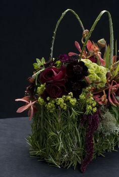 rosemary flower purse, Françoise Weeks