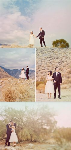 Desert wedding photos ... Scenery ...  rustic glamorous, vintage, country elegance, shabby chic, boho, whimsical