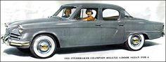 1953 Studebaker Champion Deluxe 4-door Sedan