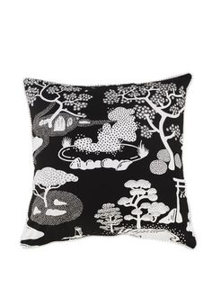 Cushion Cover - Zen Onsen Garden / Safomasi