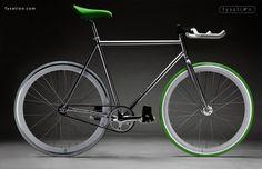 Beautiful fixed gear bike