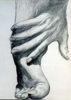 Drawings : Dessin mine de plomb d'après photo