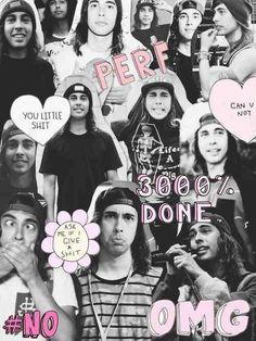 Vic Fuentes collage