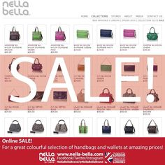 Online SALE! Visit www.nella-bella.com Fantastic selection & great deals! #Sale #NellaBellaBrand #Canada #Handbags #Fashion #Vegan #Style #New #Bags #Totes #Satchel #Clutch #Messenger #Chic #Trend #Design #Instyle #StreetStyle #Love #Everyday #Collection #Whattowear #online #ootd #designer #style #women #whatsnew