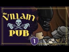 Villain Pub, A New Animated Series Where Iconic Movie Bad Guys Throw Back Drinks and Drown Their Sorrows