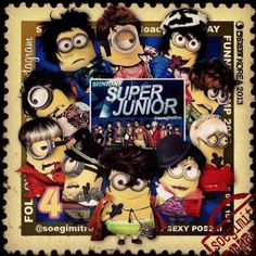 Super Junior minions