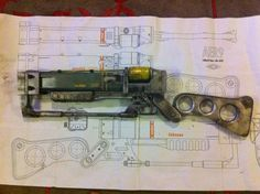 Fallout 3 - Vault Dweller Props. Laser weapons were my favorite, particularly the laser rifle.