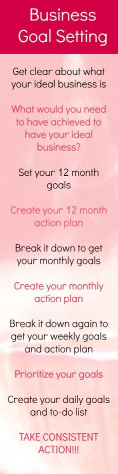 10 tips to help you set effective business goals. Tips and replay of the live…