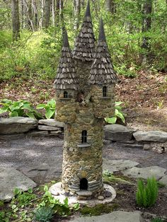 CASTLE IN THE WOODS by PALEIDIA-Very Busy, via Flickr