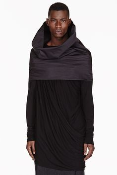 Rick Owens tube scarf find more women fashion on www.misspool.com