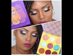 first impressions of the Juvia's Place Saharan2 palette || Ronisha Denise - YouTube