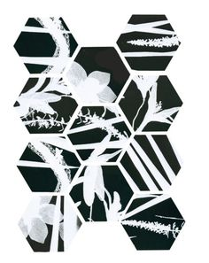 Paige Eager, pattern made of clips of my photograms