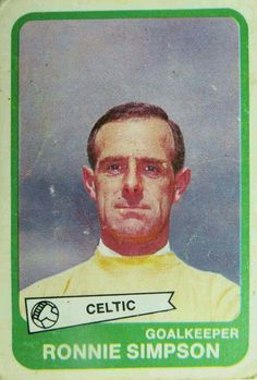 Ronnie Simpson of Celtic in 1968.