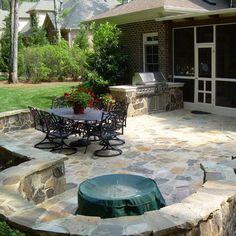 Backyard Patio Design Idea
