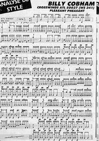 billy cobham drum transcription - Google Search