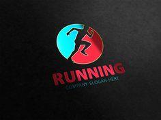 Running Logo by CreativeDezing on @creativemarket