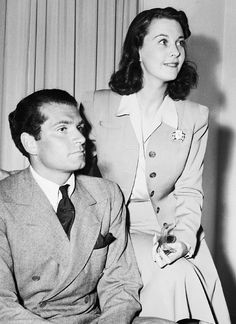 Lawrence Olivier and Vivien Leigh.