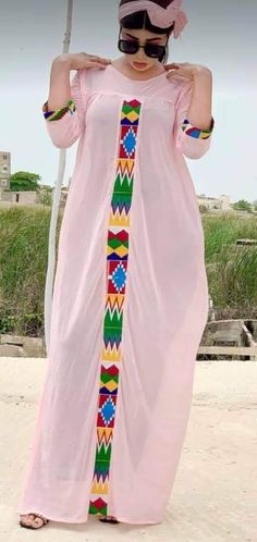 Long African Dresses, African Print Dresses, African Print Fashion, Africa Fashion, African Fashion Dresses, Mode Abaya, Abaya Fashion, African Design, African Attire