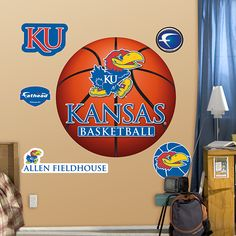 Kansas Jayhawks Basketball Logo