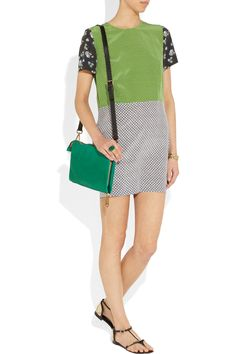 hopper printed silk mini dress from stella mccartney, $ our rent