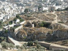 Akeldama Potter's Field in Jerusalem, traditional site where Judas Iscariot hanged.