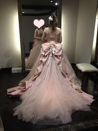 「ルアンジェ タカミブライダル カラードレス ピンク」の画像検索結果
