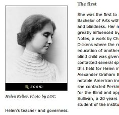 Helen Keller Facts And Information