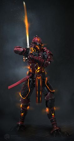 ArtStation - Ready Player One- Daito Concepts, Kyle Brown Ready Player One Characters, Ready Player One Book, Robot Concept Art, Armor Concept, Fantasy Armor, Dark Fantasy, Assassins Creed, Character Inspiration, Character Art