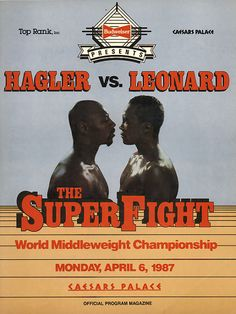Sugar Ray Leonard came out of retirement to challenge Marvelous Marvin Hagler. Leonard won the very close decision. If you ask 100 people you will most likely get 50 for Hagler and 50 for Leonard. One of the closest fights especially as a major fight.