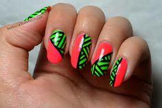 neon nail polish - Google Search