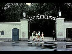 Old entrance of the amusement park, the Efteling...