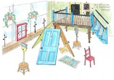 playscapes: Ball and Loop system for making forts, Chicago Children's Museum and DesignPlay Studio, 2009