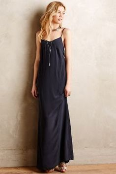 Bella Luxx Despoina Silk Maxi Dress #anthrofave