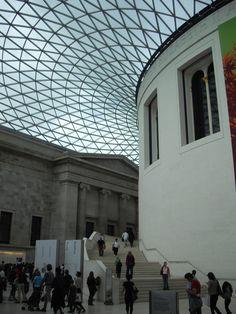 Interior del Museo Británico. Londres. 2010.